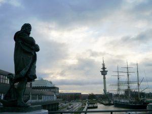 Columbus Blick über die Havenwelt.