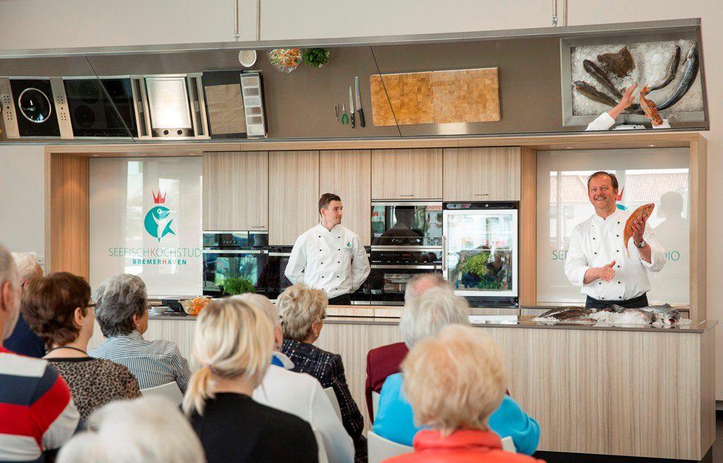 Kochshow Seefischkochstudio Bremerhaven