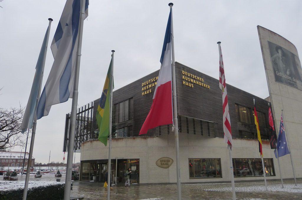 Außenaufnahme Deutsches Auswandererhaus