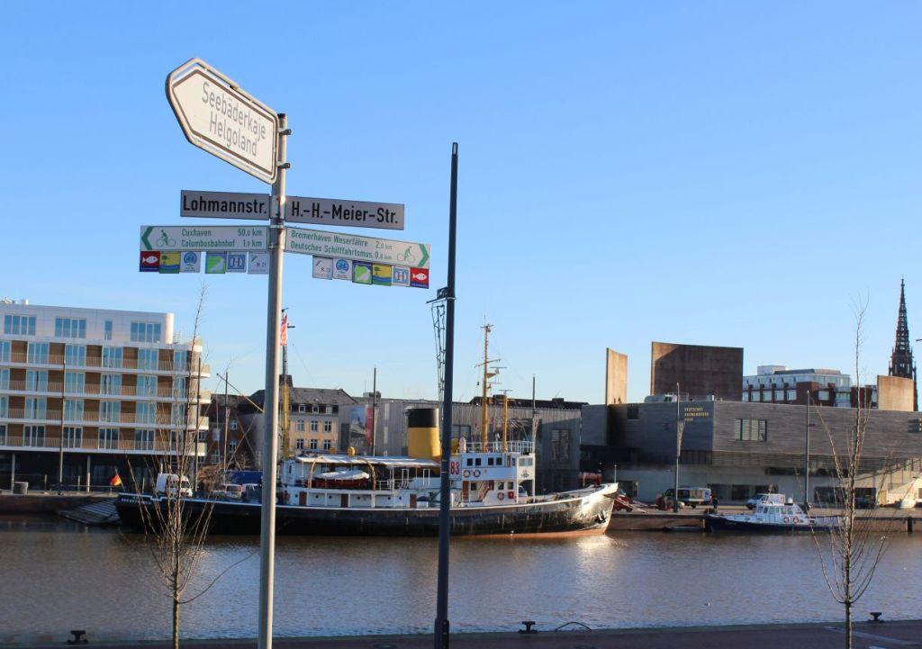 Straßennamen in Bremerhaven (c) Mailin Knoke