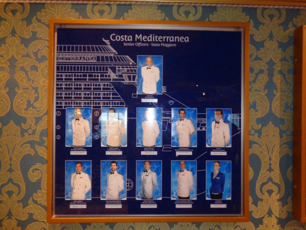"""Wer ist wer an Bord der """"Costa Mediterranea""""? (c) Tanja Albert"""