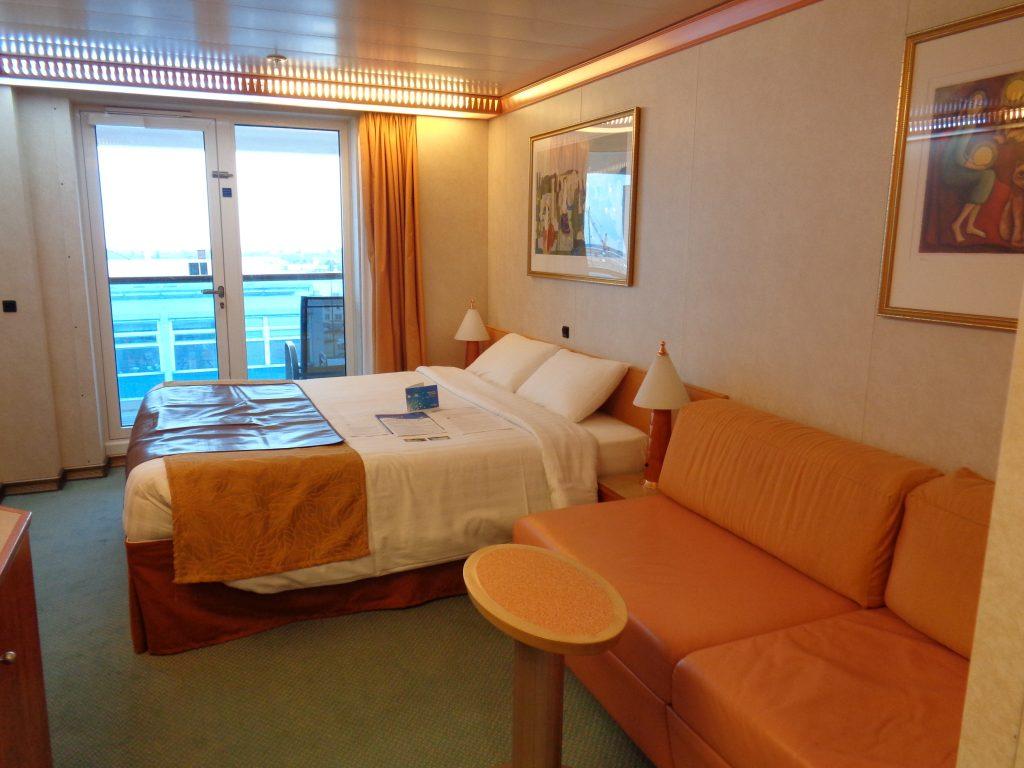 """Balkonkabine auf der """"Costa Mediterranea"""""""
