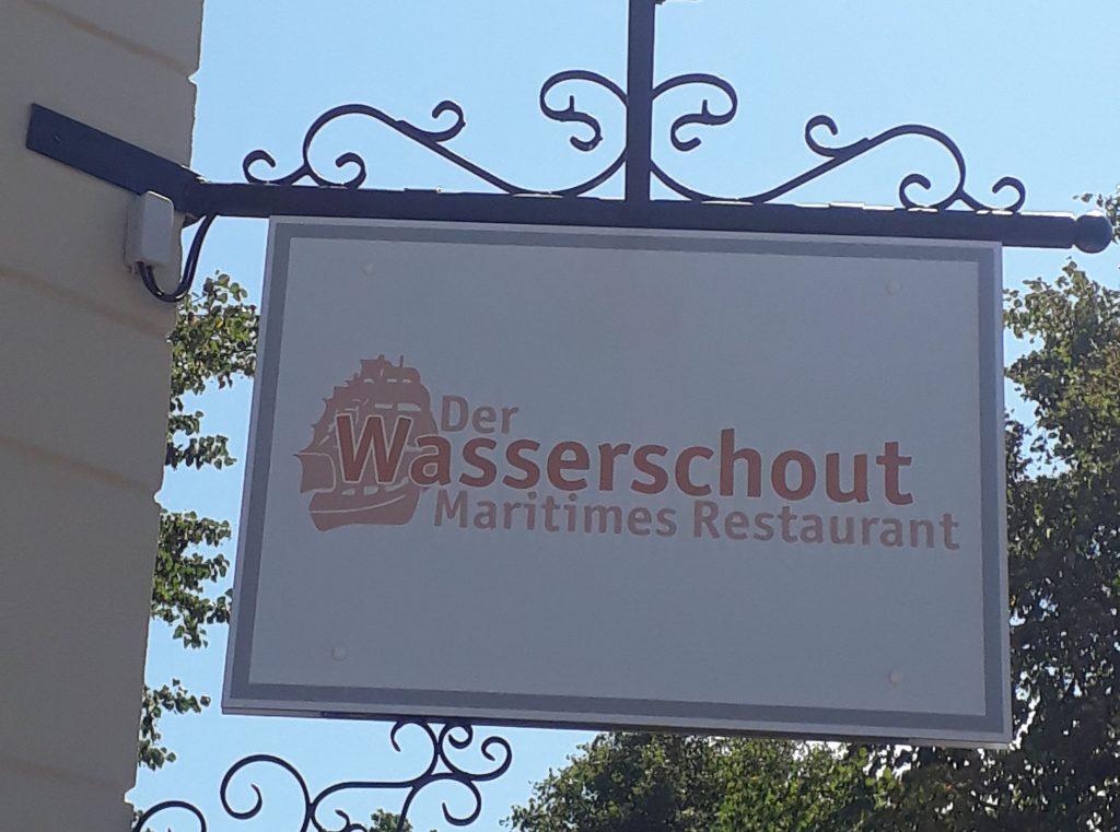 Der Wasserschout ist heute Restaurant und Biergarten
