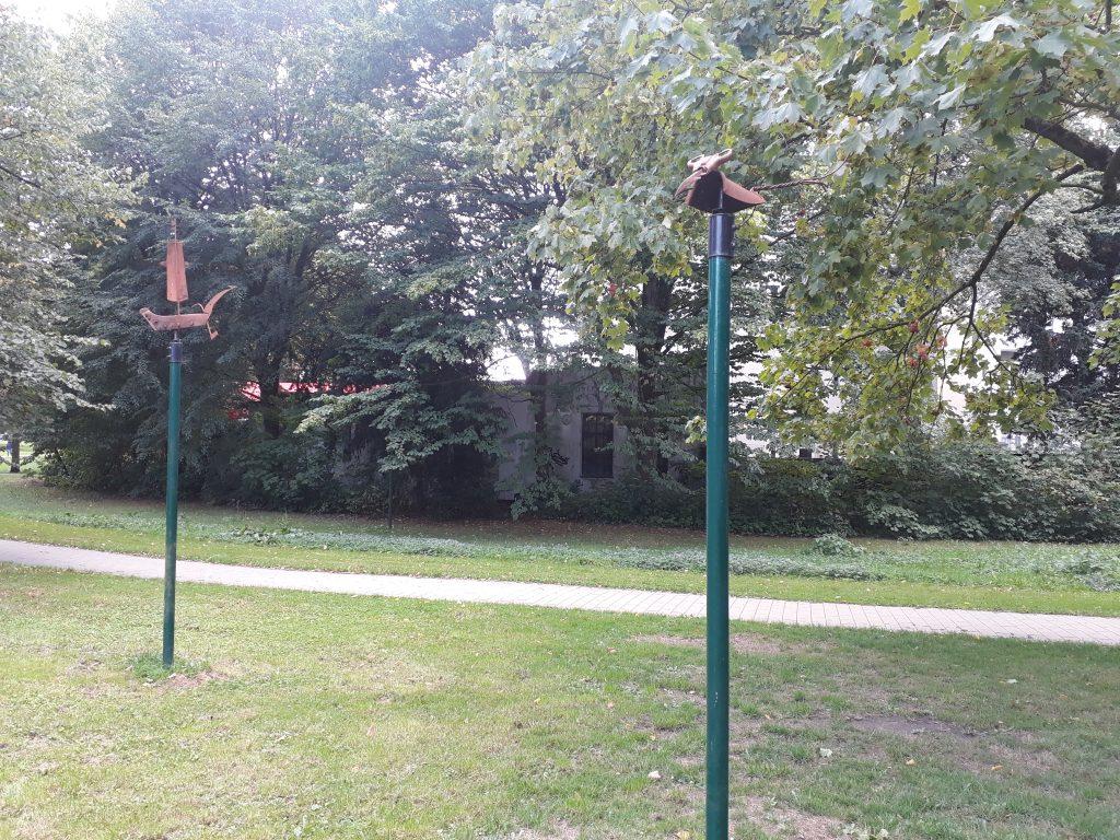 """Echte Hingucker die Skulpturen im Saarpark beim InstaWalk """"Lebhaftes Lehe"""" (c) Tanja Albert"""