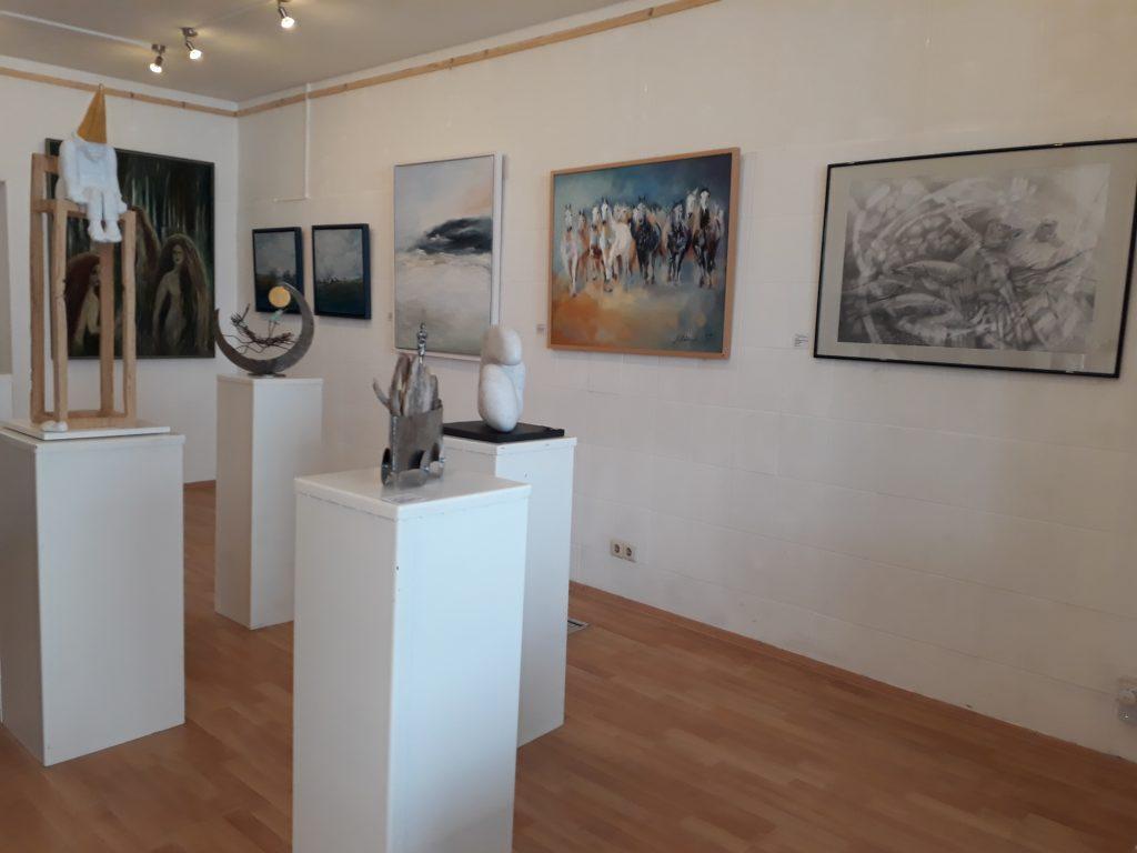Blick in die Galerie 78 beim Tag des offenen Ateliers (c) Tanja Albert