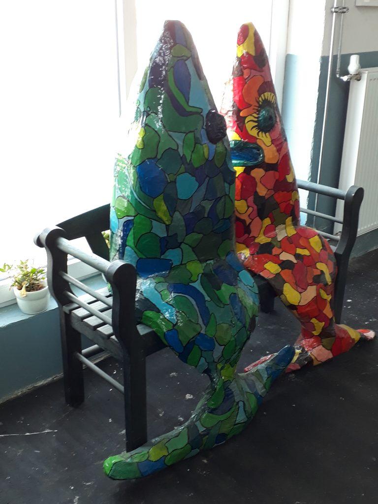 Wechselnde Ausstellungen im Fischkai57 lassen immer wieder Neues entdecken (c) Tanja Albert