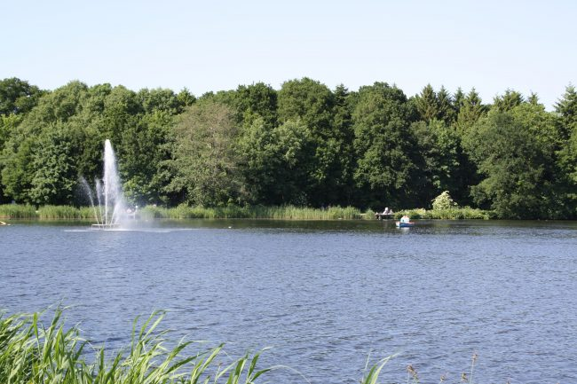 Fontäne im Gesundheitspark Speckenbüttel (c) Tanja Albert