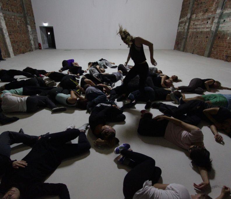 Tanzworkshop im Rahmen der TANZLAND - Kooperation