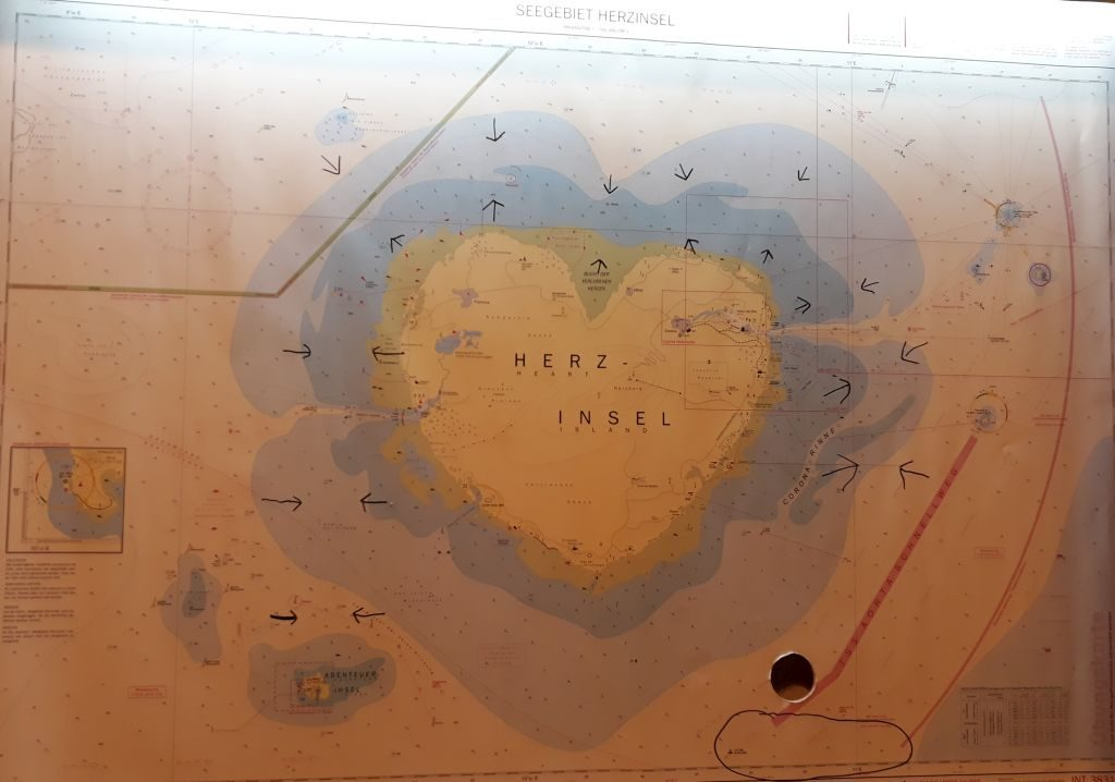 """Seekarte"" im 2EscapeRoom (c) Tanja Albert"