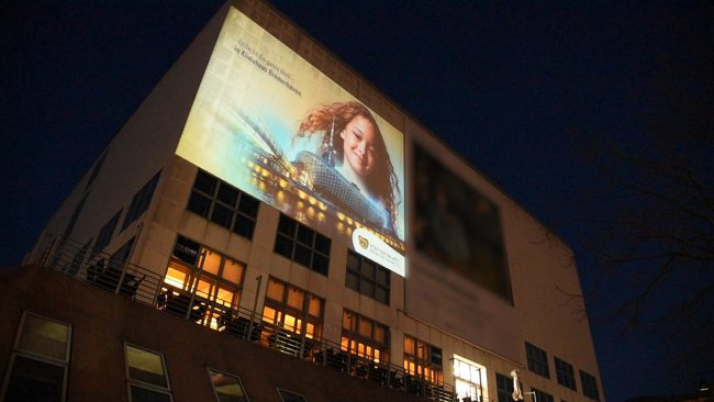 Bremerhaven Klimahaus Kinospot Projektion