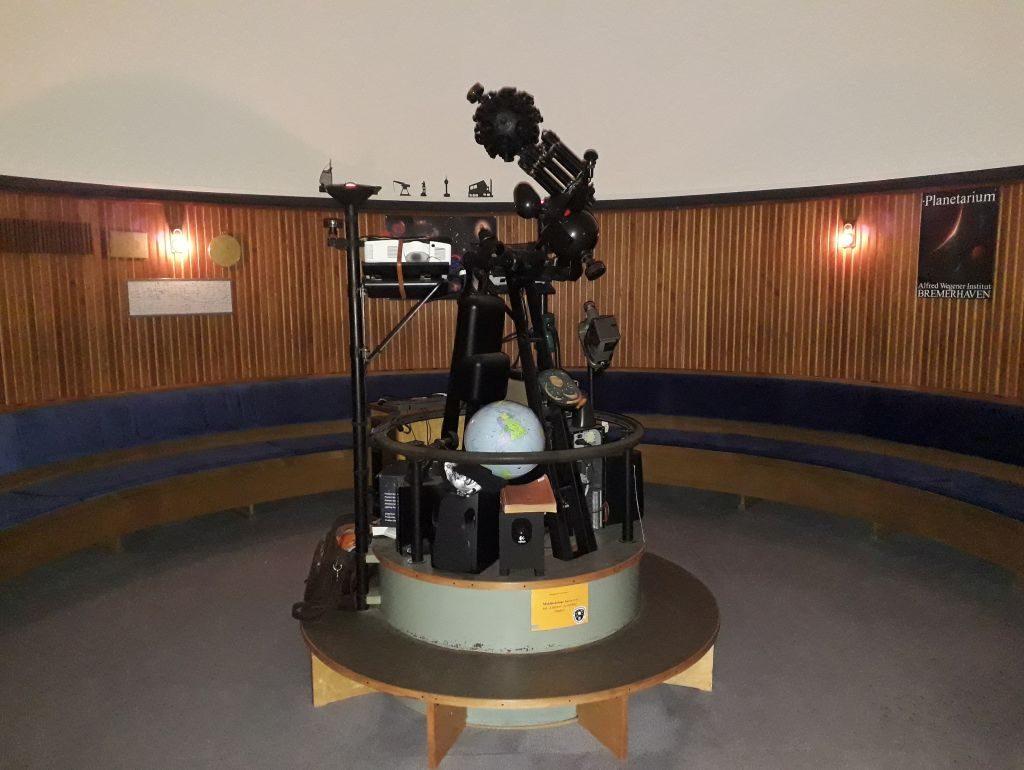 Im Planetarium Bremerhaven (c) Tanja Albert
