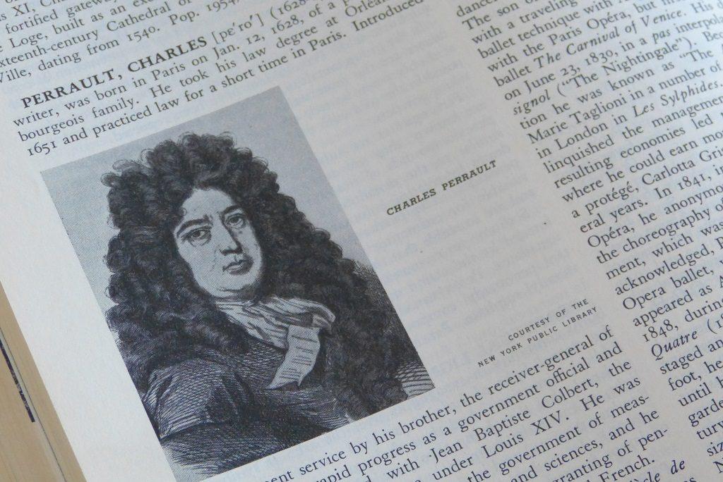 Ein Lexikonartikel zu Charles Perrault, Märchenerzähler aus dem 17. Jahrhundert