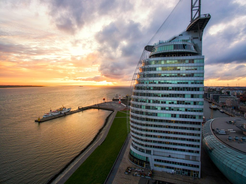 Das ATLANTIC Hotel Sail City in Bremerhaven