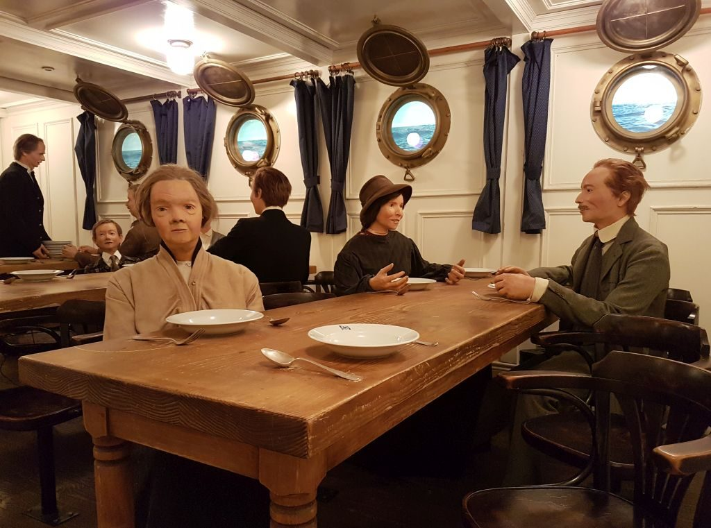 Speisesaal der dritten Klasse (c) Tanja Albert