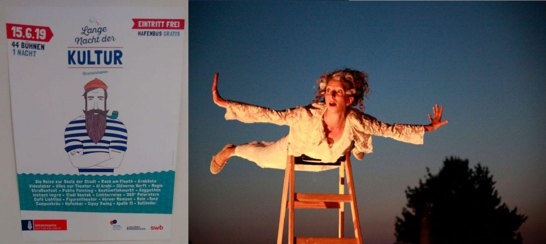 Titelbild des Beitrags - ein Plakat und eine Schauspielerin
