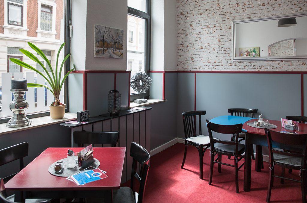 """Freundlich, persönlich, echt britisch: das """"Marper's Inn"""" im Goethequartier. (c) Marco Butzkus"""