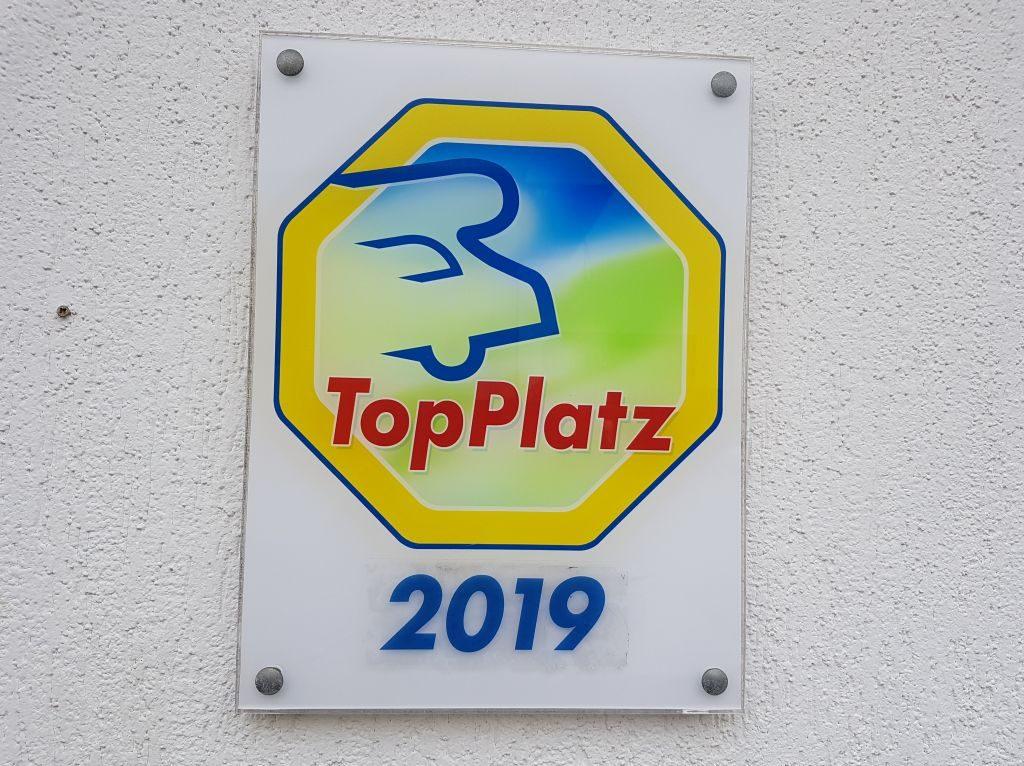 Der Reisemobil-Parkplatz Doppelschleuse ist als TopPlat ausgezeichnet (c) Tanja Albert