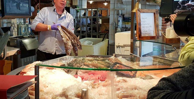 Frischfisch in Fiedlers Fischmarkt anno 1906 (c) Tanja Albert