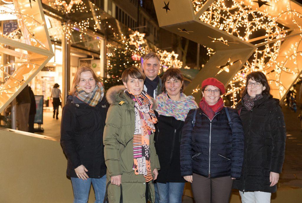Bremerhaven-Blogger vor Weihnachtsstern