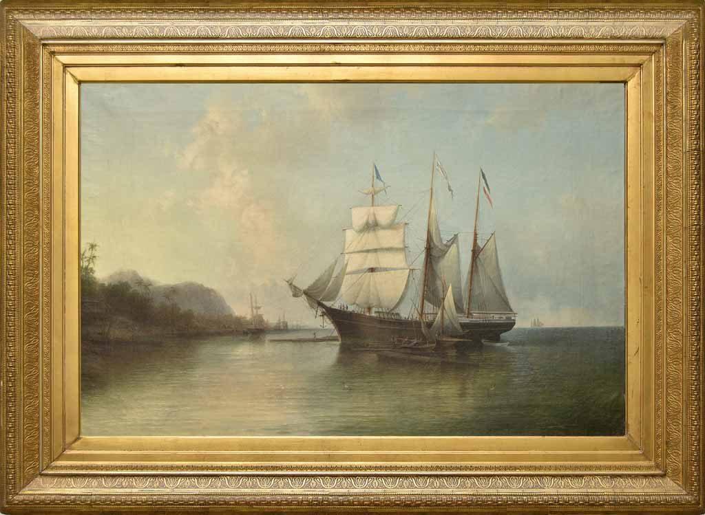 """Gemälde """"SALIER"""" im Historischen Museum Bremerhaven (c) Historisches Museum Bremerhaven"""