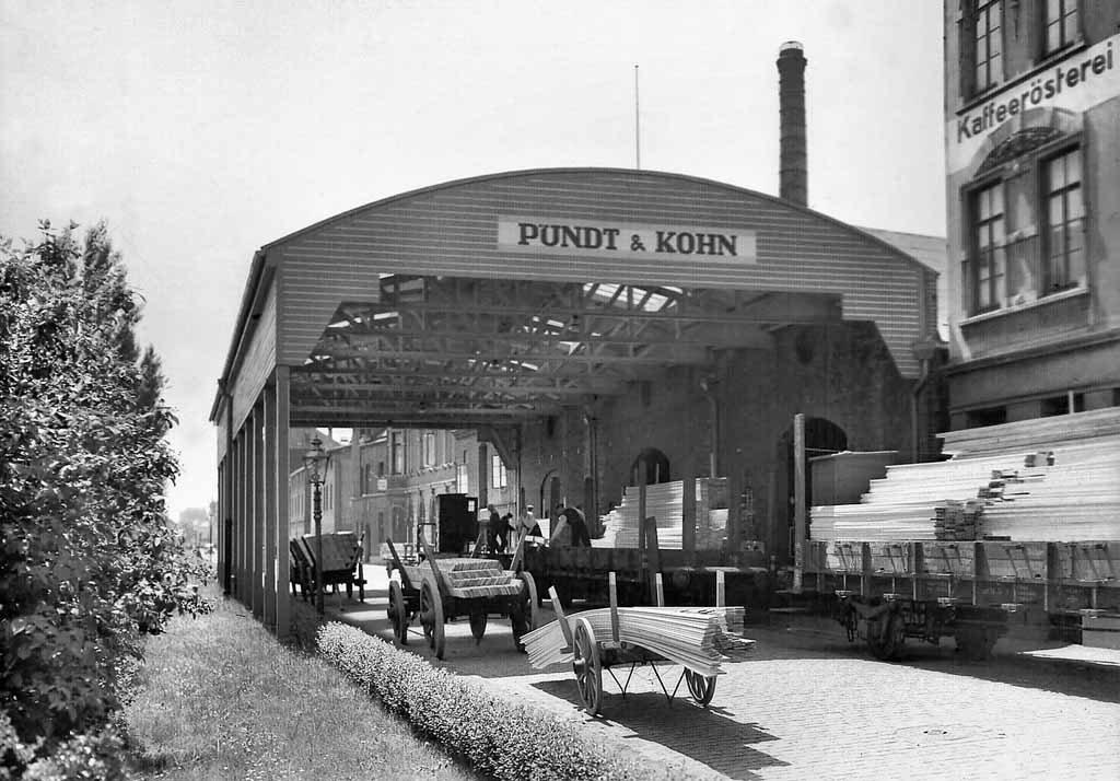 """""""Pundt & Kohn"""" in der Industriestraße"""