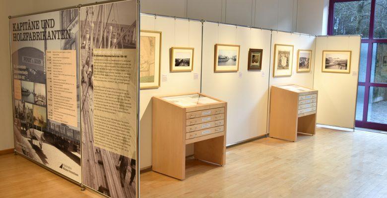 """""""Kapitäne und Holzfabrikanten – Die Geestemünder Unternehmerfamilie Kohn 1830-1867"""" im Historischen Museum Bremerhaven (c) Historisches Museum Bremerhaven"""