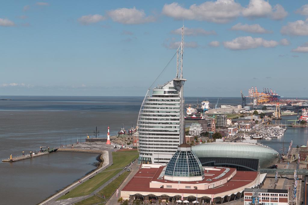 Blick vom Radarturm Richtung Norden