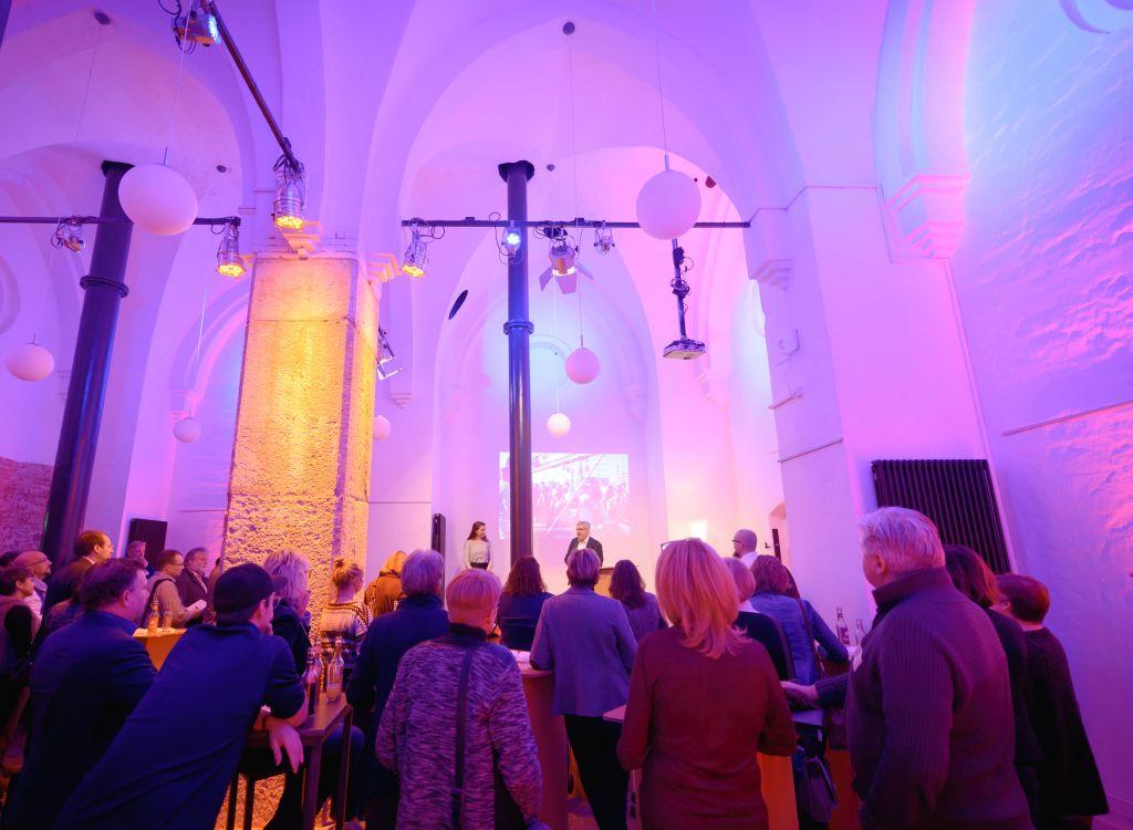 Stimmungsvoller Veranstaltungsraum in der Losche statt Wasser marsch im Wasserturm (c) Antje Schimanke Fotografie