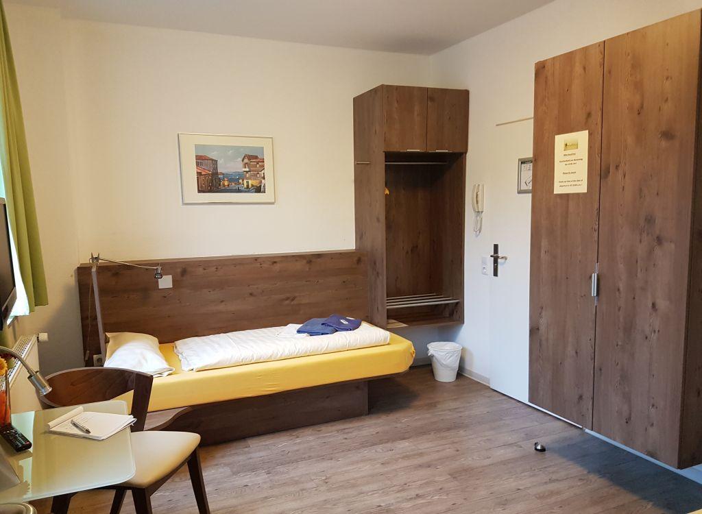 Zimmer im Seemannsheim Bremerhaven (c) Tanja Albert