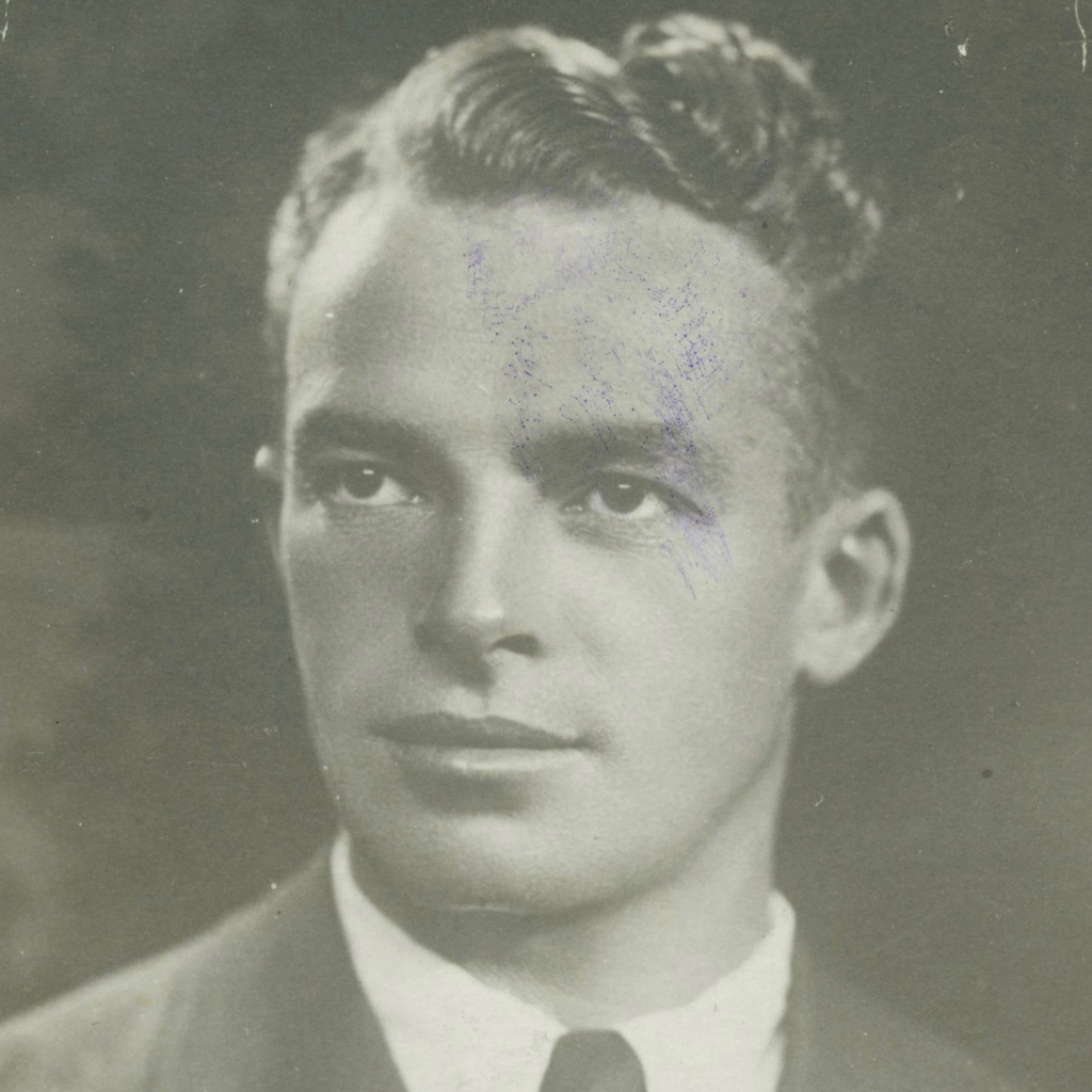 Porträt Silvio Olivier 1930er