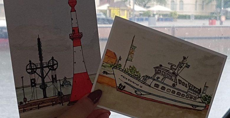 Urban Sketching von Uli Keller (c) Tanja Albert