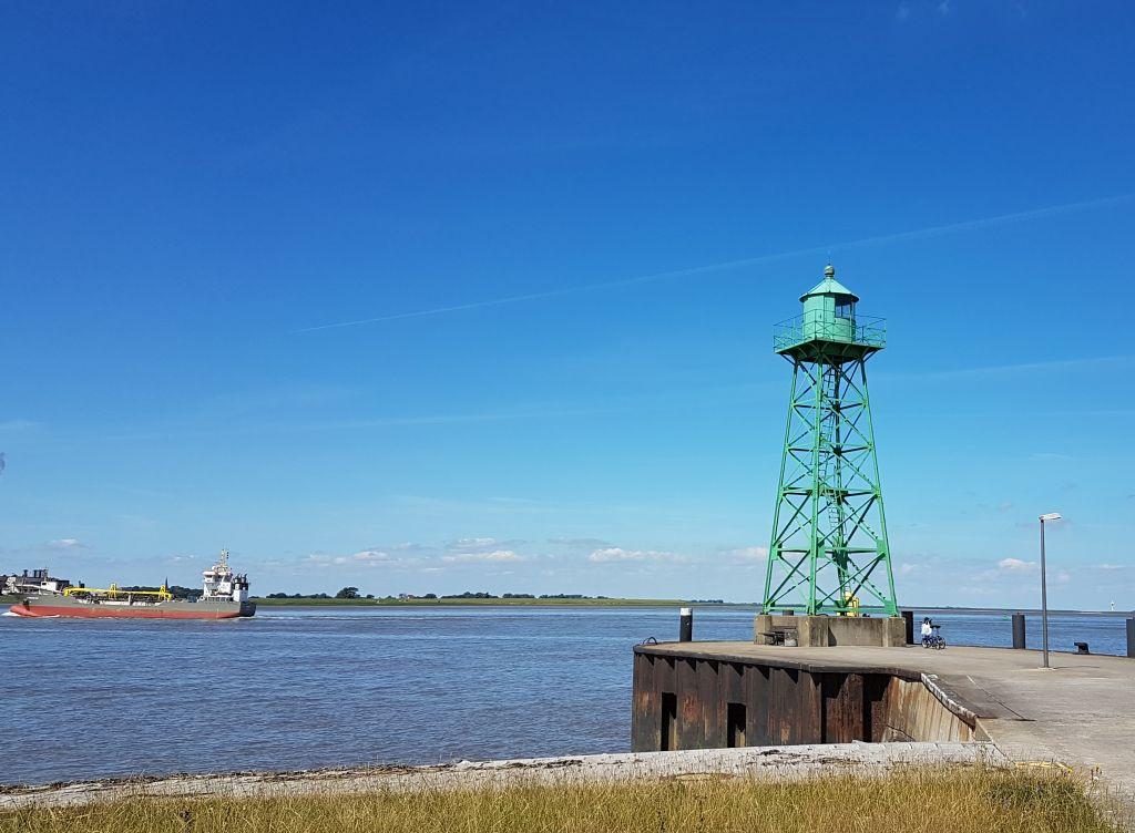 Leuchtturm an der Südmole Bremerhaven (c) Tanja Albert