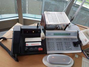 Funksprechanlage und Steuergerät für die Kammeras der Schleuse Neuer Hafen (c) Tanja Albert