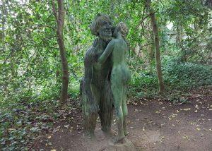 Skulptur in Thieles Garten (c) Tanja Albert