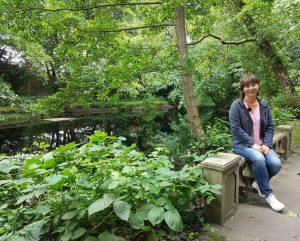 Ich in Thieles Garten (c) Mailin Knoke