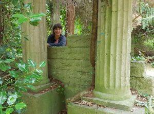 """In der """"Ruine"""" (c) Mailin Knoke"""