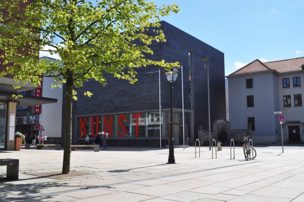 Blick auf das Kunstmuseum Bremerhaven (c) Kunstverein