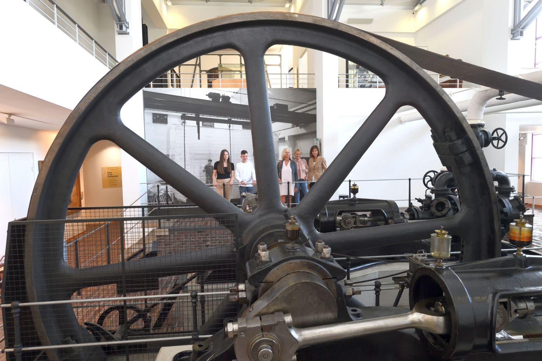 Dampf-Kältemaschine im Historischen Museum Bremerhaven (c) Wolfhard Scheer