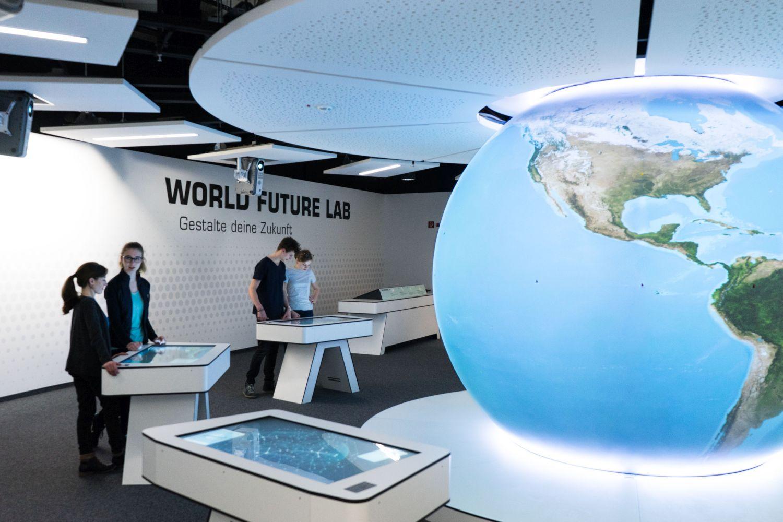 Stationen im World Future Lab im Klimahaus Bremerhaven 8° Ost (c) Klimahaus