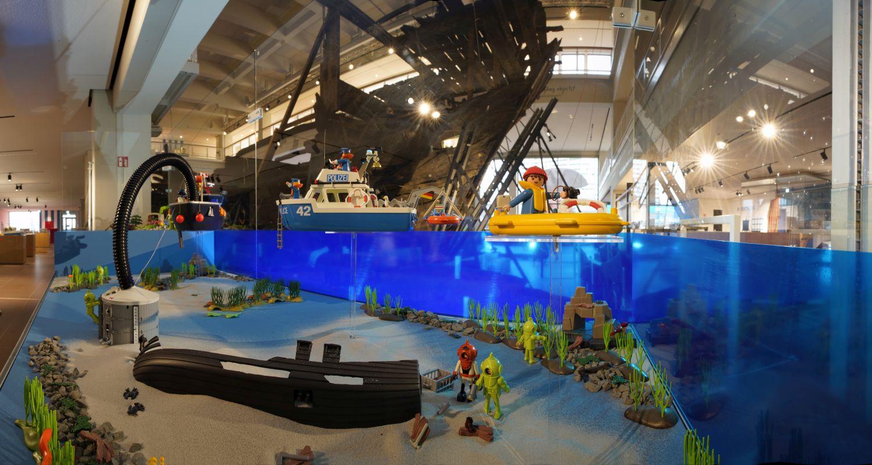 Playmobil-Sonderausstellung im Deutschen Schifffahrtsmuseum Bremerhaven (c) Hauke Drechsler
