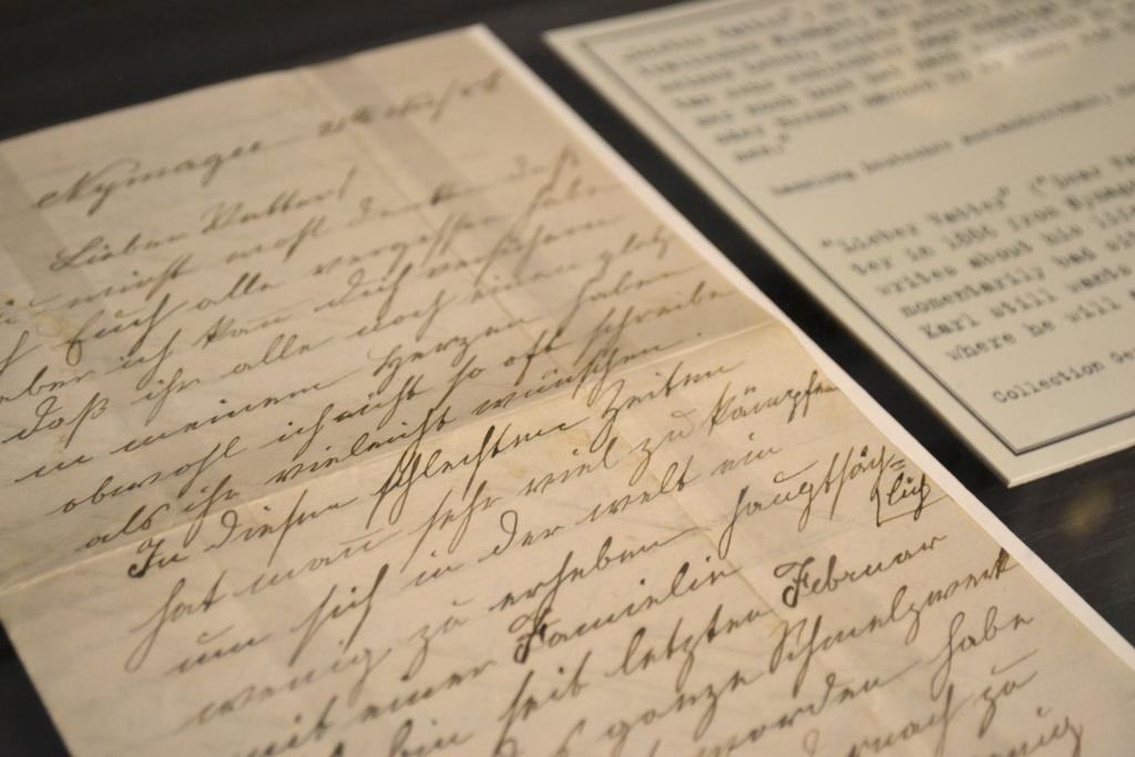 Brief von 1888 aus Australien. Ein Dokument der zurückhaltenden Emotionalität in vielen Lettern.