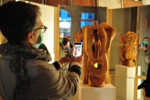 Holzmasken von Reiner Madena (c) J. Rillke