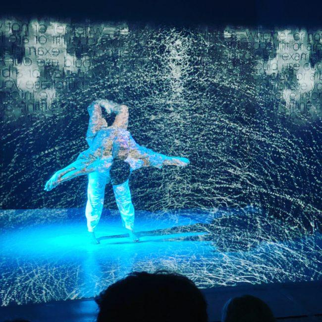 """Die Tanzperformance """"Tetra"""" von Noi, Aconite, G. Decherchi und K. Metzler. (c) R. Worden"""