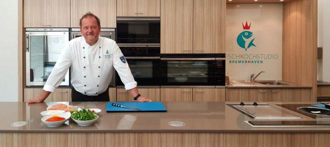 Hat Idee für pfiffiges Fischrezept: Chefkoch Ralf Harms