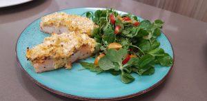 Fischrezept: Fisch mit Salat
