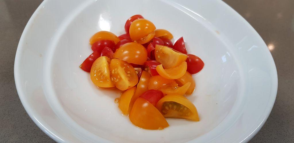 Fischrezept Tomaten für den Salt