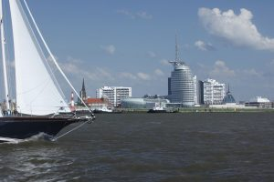 bremerhaven meer segelboot
