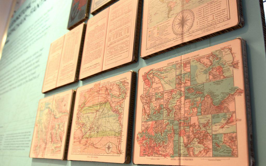 Inhalte aus dem See-Atlas von Justus Perthes.