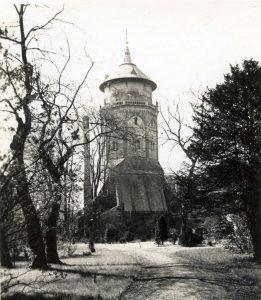 Blick auf den Wasserturm um 1935 (c) Historisches Museum Bremerhaven