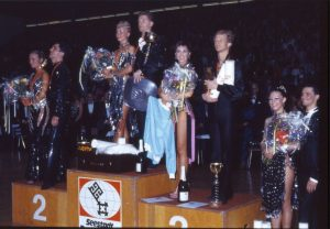 Siegerehrung bei der WM 1985 (c) Lothar Scheschonka